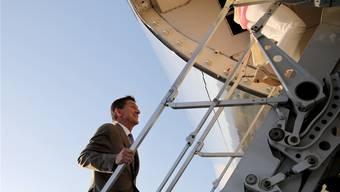 Vor drei Tagen durfte Michael Flynn noch mit der Präsidentenmaschine fliegen. Jetzt musste er als Sicherheitsberater zurücktreten.
