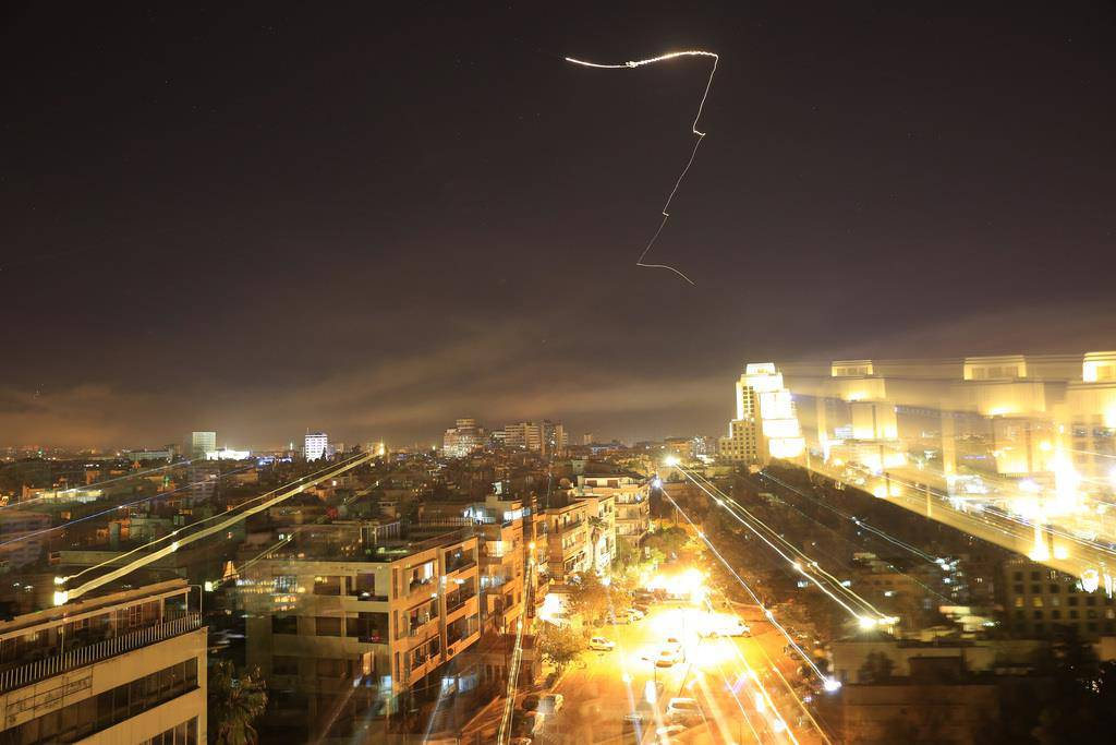 Angriff auf Syrien (© Keystone)