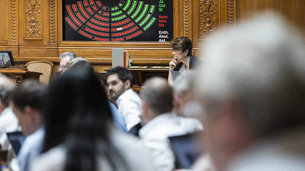 Wegen Corona-Isolation oder -Quarantäne abwesende Nationalratsmitglieder sollen künftig von zu Hause aus abstimmen können. (Archivbild)