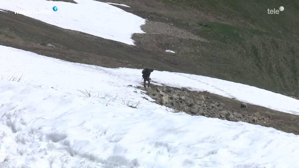 Schnee im Sörenberg verzögert Start der Sommersaison