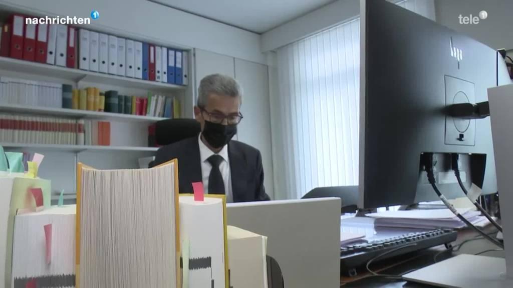 Erster Coronabetrüger der Deutschschweiz vor Gericht