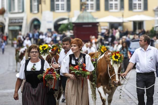 Sandra Boner, hier am Chästag Solothurn 2018, wird voraussichtlich ab Sommer 2019 wieder ganz ins Berufsleben zurückkehren können.