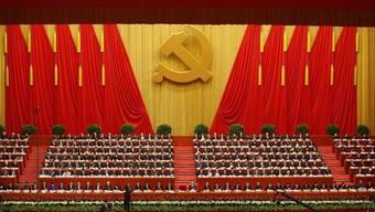 Blick auf den Parteitag der Kommunistischen Partei in Peking (Archiv)