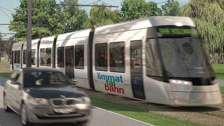 Bis Ende Jahr entscheidet der Bundesrat über die Infrastrukturkonzession für die Limmattalbahn.zvg