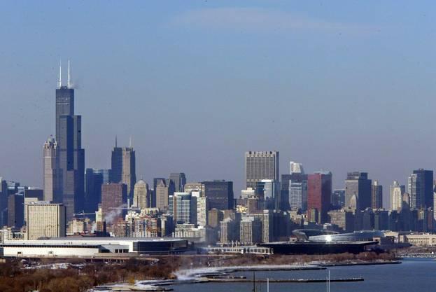 Chicago am Lake Michigan.