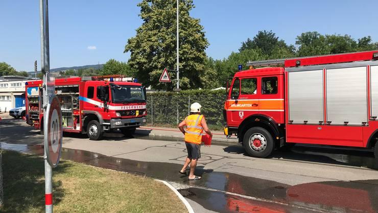 In Bremgarten musste am Dienstag, kurz vor 15 Uhr, die Badi vorsorglich evakuiert werden.