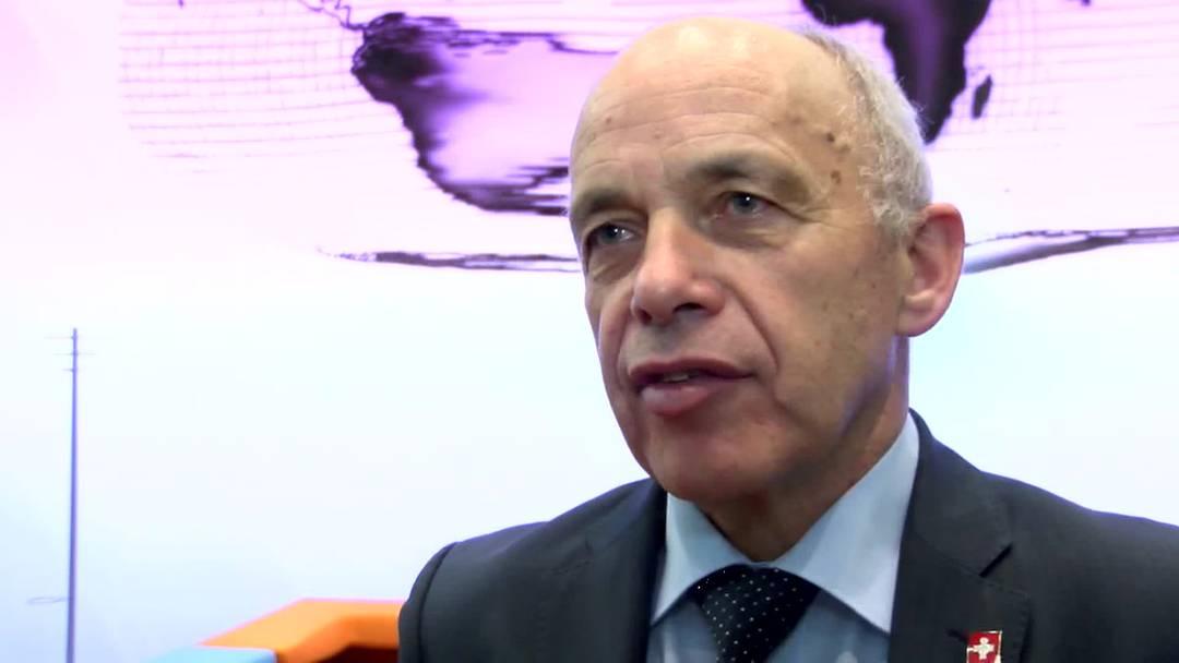 Ueli Maurer: «Ersatzteile sind dringend nötig»