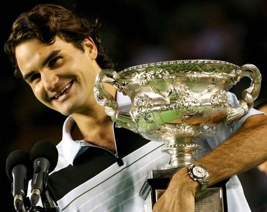 Als erster Spieler seit Björn Borg 1980 in Paris gewinnt Federer ein Grand-Slam-Turnier ohne Satzverlust. Es ist das bisher einzige Mal, dass Federer in Australien die Titelverteidigung gelingt.