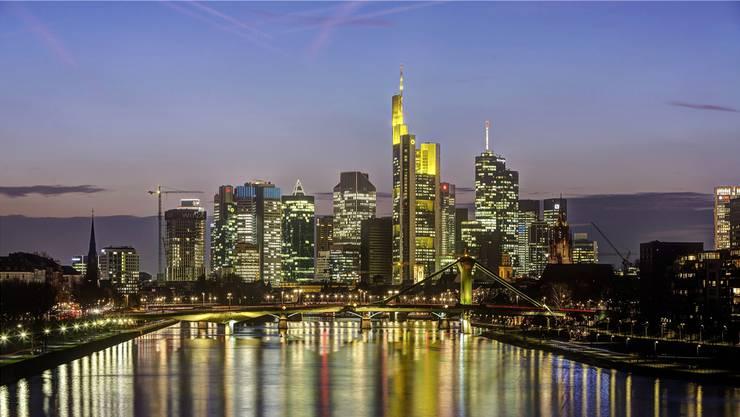 Finanzmetropole Frankfurt.