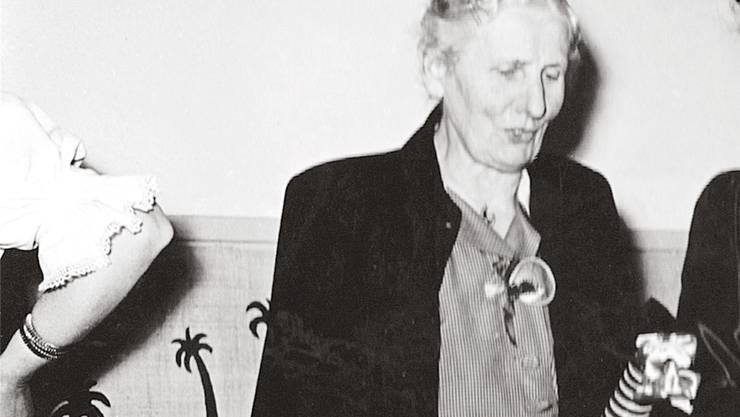 Zwei Jahrzehnte lang wirkte Anna Koch-Konrad als Präsidentin für den Frauenverein Dietikon.
