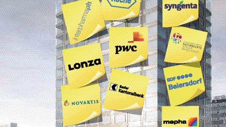 Biozentrum der Zukunft? Kritiker warnen, dass potentielle Sponsoren die Uni beeinflussen könnten. (Montage)