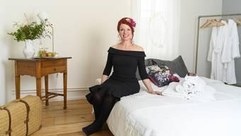 Regina Maurer eröffnet Bed&Breakfast