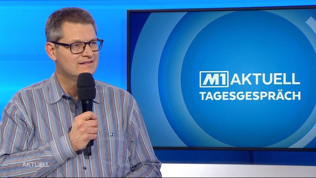 Christoph Fux über die Corona-Impfung. Ein Beitrag von TeleM1.