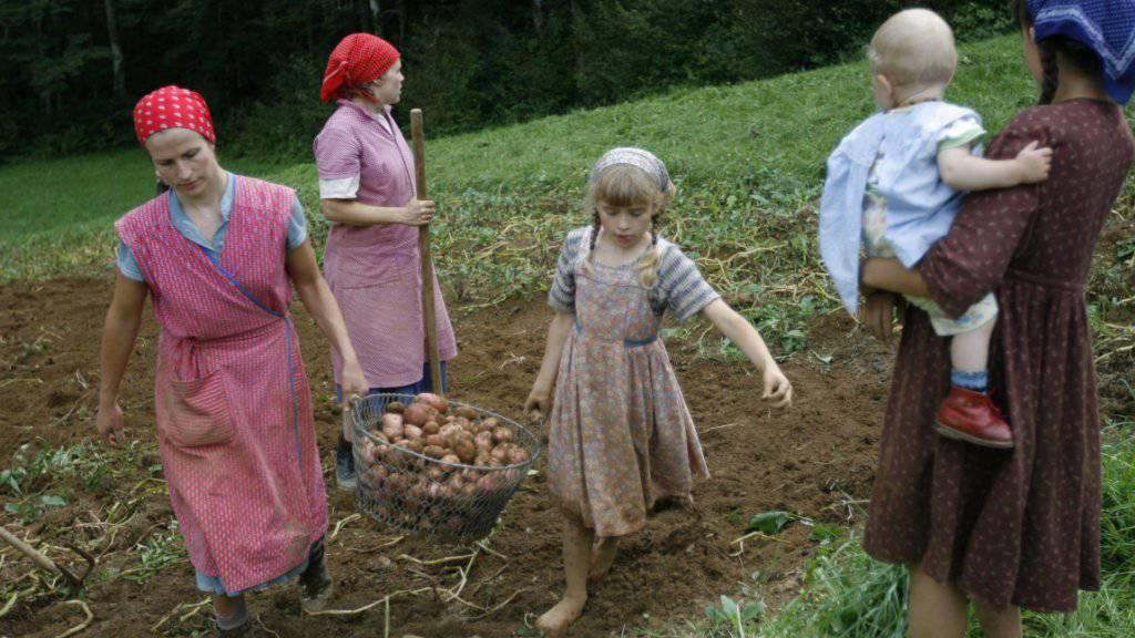 Das Mittelalter ist vorbei: Bäuerinnen wollen endlich sozial abgesichert sein für ihre massgebliche Arbeit in den landwirtschaftlichen Betrieben. Mit dem am Mittwoch in Bern lancierten Bäuerinnen-Appell setzen sie Druck auf. (Themenbild)