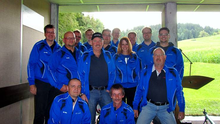 14 Teilnehmer der SG Bünzen am LKSF 2013