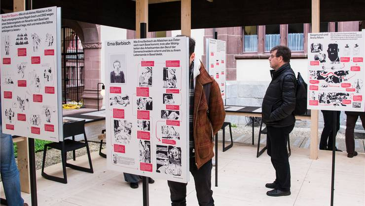 Die Ausstellung «Du bist hier» im Staatsarchiv thematisiert 20 Biografien.
