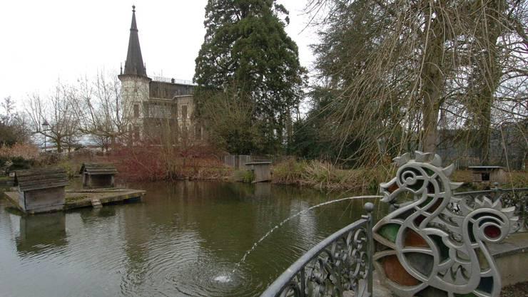 Die Parkanlage auf dem südlichen Teil Schlossareals möchte die Bevölkerung weiterhin besuchen können.