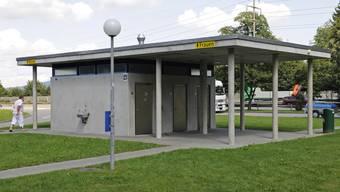Ein Rastplatz auf der Autobahn 1 bei Birrhard
