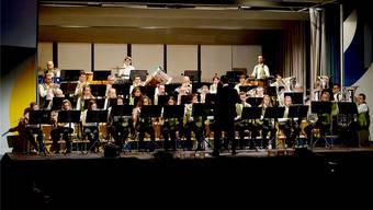 Die Musikgesellschaft Eintracht begleitete Felix Hofer und dasEuphonium Phonie auf ihrer Reise «zu de Lüt».