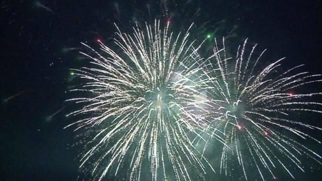 Feuerwerk am Strandfest Aarburg gerettet!