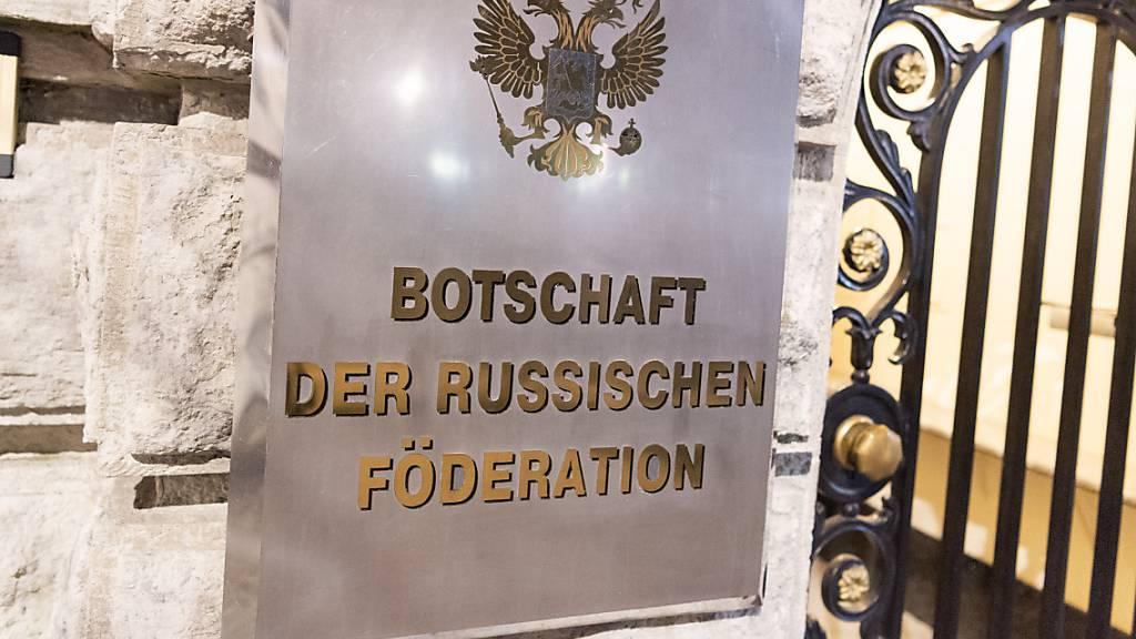 Deutschland weist russischen Diplomaten aus