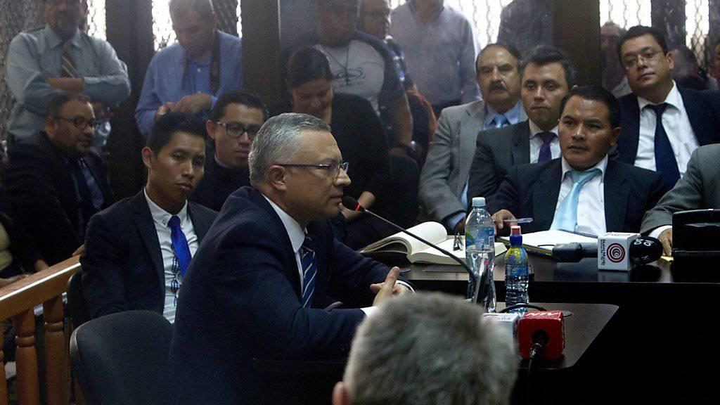 «Der Verteiler»: Unternehmer Salvador Estuardo Gonzalez belastet Guatemalas Ex-Präsidenten schwer