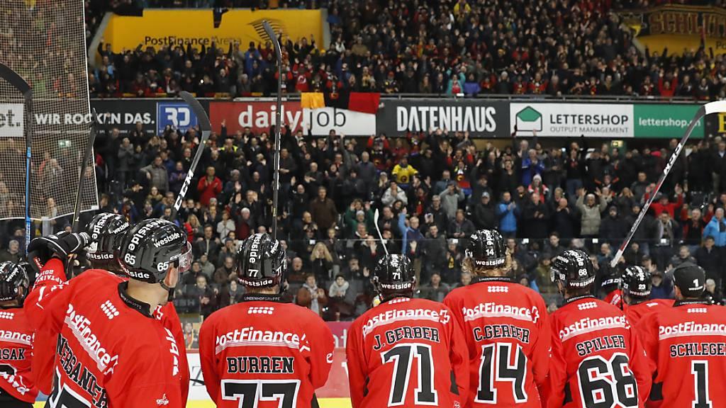 SC Bern und National League weiterhin europäische Spitze