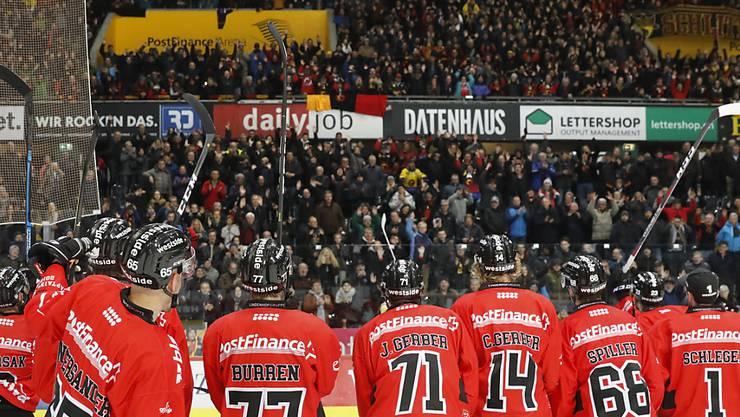 Der SC Bern darf sich beim europaweit treusten Anhang bedanken