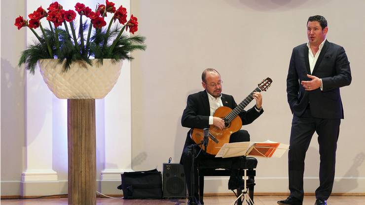 Michael Erni und Michael Aeberhard im Duett.