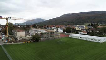 Das Schulhausareal in Niederbuchsiten bekommt ein neues Gesicht.