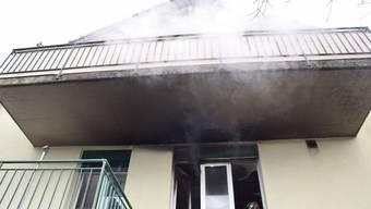 In Obergerlafingen brannte am Montagmorgen eine Küche.