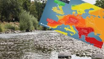 Ausgetrocknete Flüsse, niedrige Wasserstände: Droht dieses Jahr ein ähnlich heisser Sommer wie 2018?