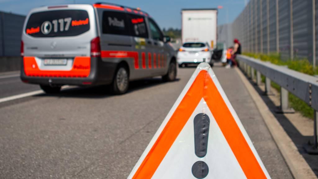 Vier Unfälle im Morgenverkehr führen zu Stau in der Zentralschweiz