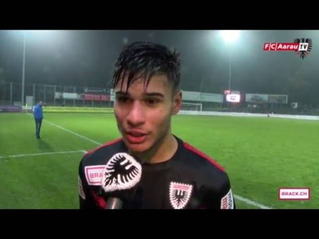 FC Aarau - FC Le Mont-sur-Lausanne 2:1 (05.12.2015) Stimmen zum Spiel