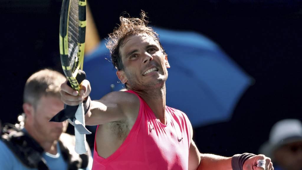 Nadal schlägt Carreño Busta und trifft nun auf Kyrgios