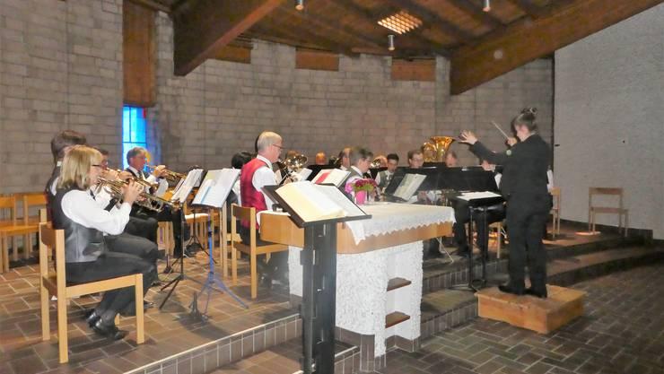 Musikalischer Auftritt der SG in der Wendolinskirche Dulliken!