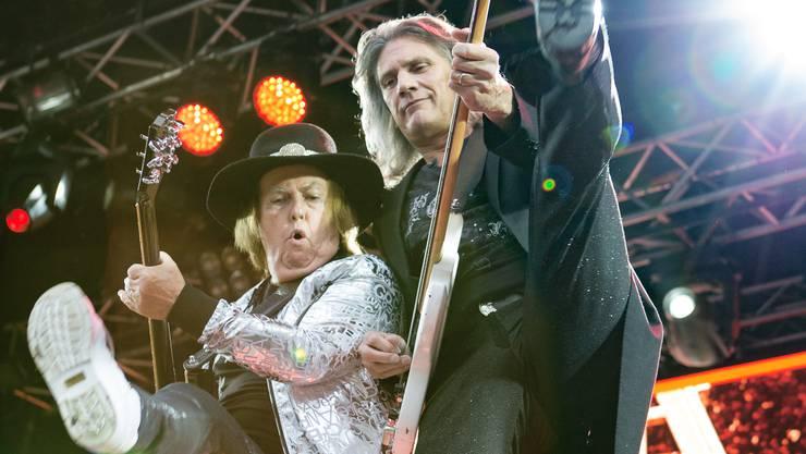 Slade aus Wolverhampton waren die erfolgreichste britische Band der 1970er- Jahre – und begeisterten in Aarburg mit ihrem Glam-Rock.