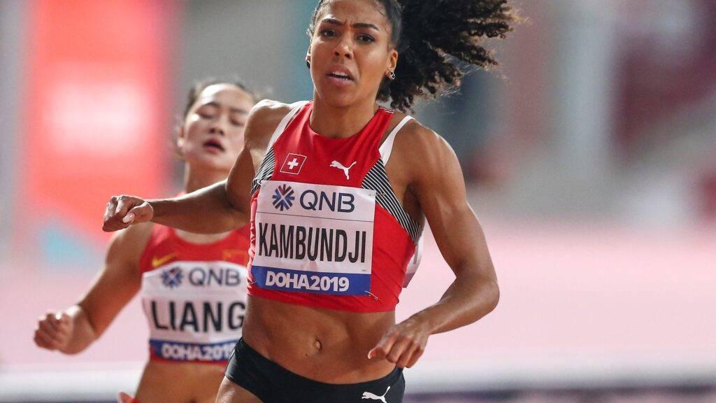 Kambundji verpasst 100m-WM-Final hauchdünn