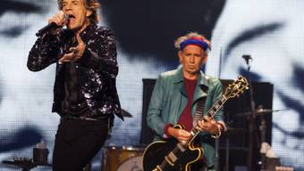 Mick Jagger und Keith Richards Ende Mai in Chicago (Archiv)
