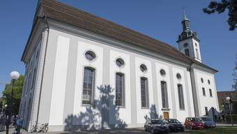 Die katholische Pfarrkirche Wohlen.