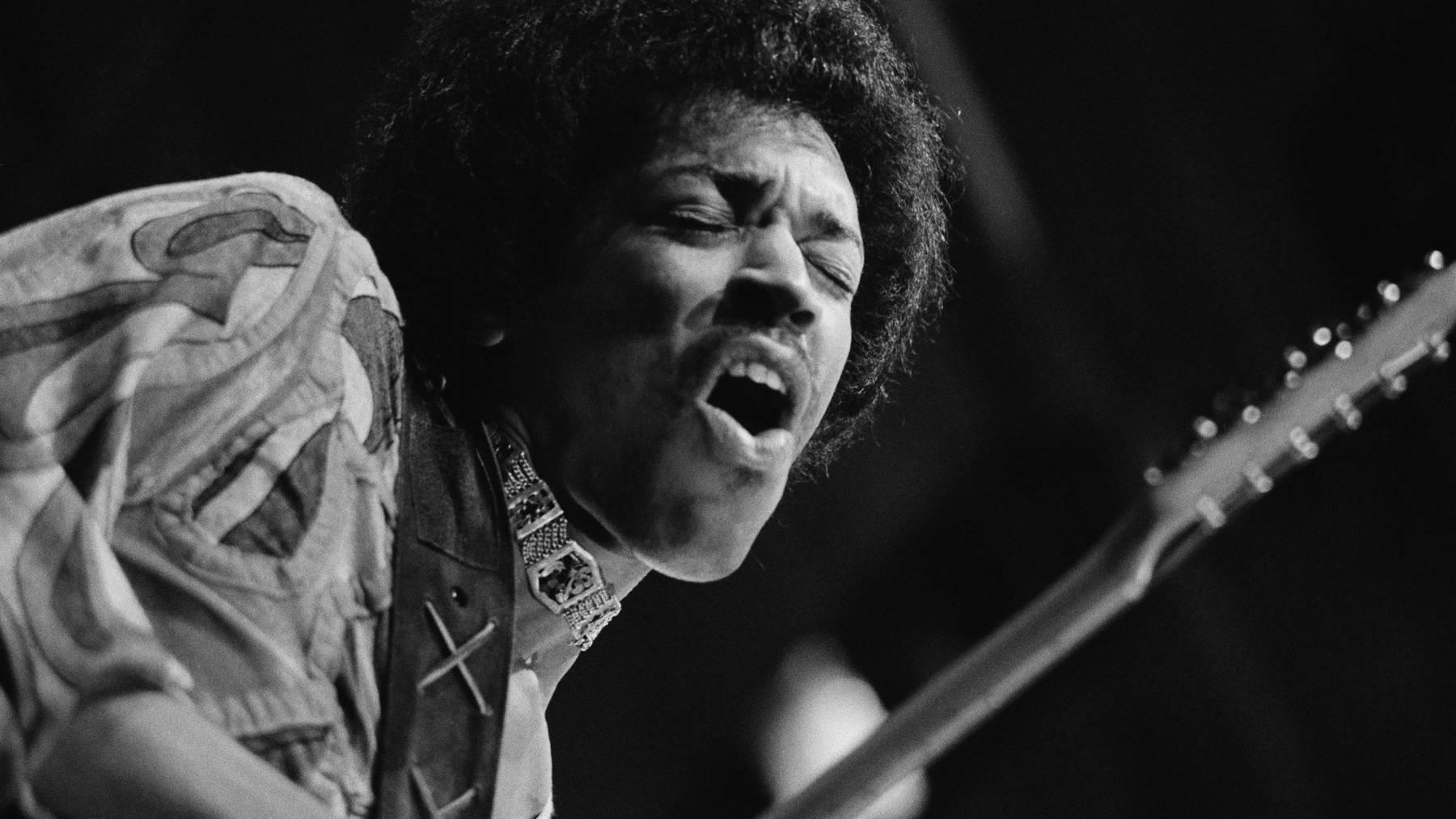 Die Legende Jimi Hendrix ist seit 45 Jahren tot. (Getty Images)
