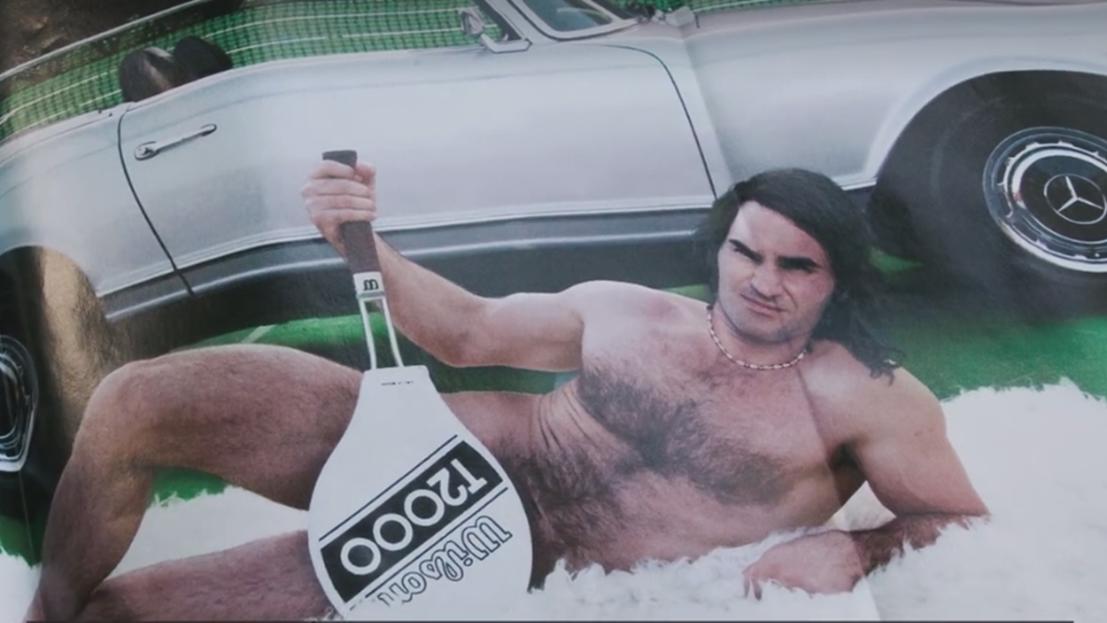 Hoppla! So habt ihr Roger Federer noch nie gesehen...