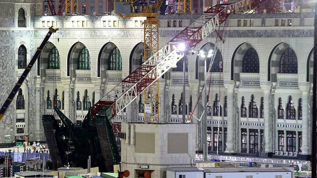 Trotz Kranumsturz in Mekka: Pilgerfahrt findet statt