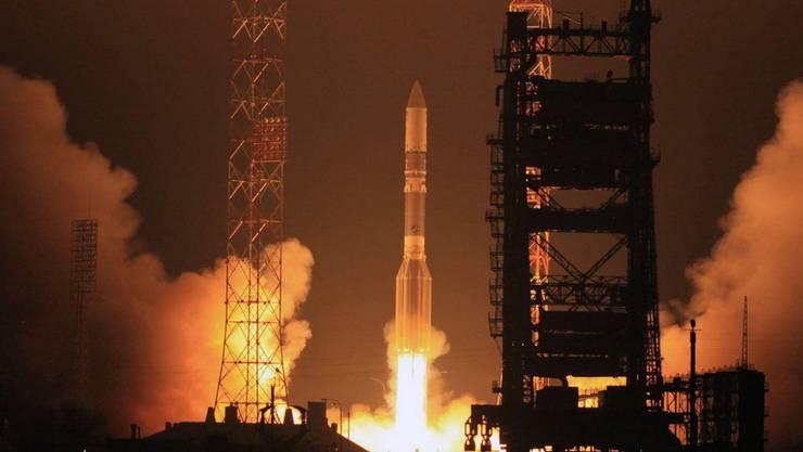 Eine Rakete des Typs Proton M ist kurz nach dem Start abgestürzt (Archiv).