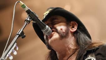 Britischer Rocker Ian 'Lemmy' Kilmister  (Archiv)
