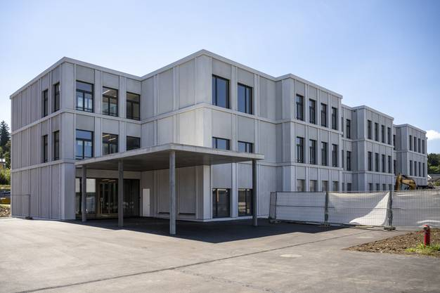Das neue Schulhaus Brühl 3 in Gebenstorf.