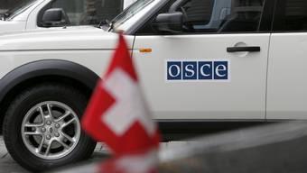 Die OSZE-Beobachter werden seit Montagabend vermisst. (Symbolbild)