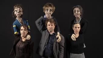 Sie bringen das Erben auf die Theaterbühne: die Dakar-Produktionen mit der Dietiker Gründerin Delia Dahinden (von links), Lukas Roth und Anna Karger.