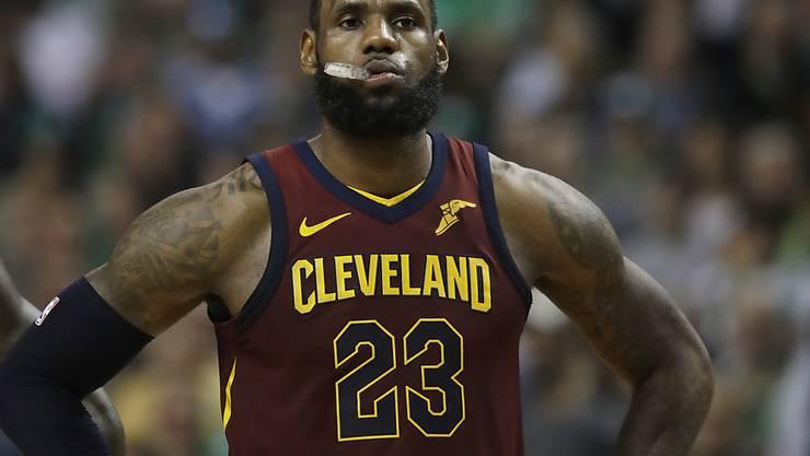 LeBron James verlor mit Cleveland auch das zweite Playoff-Halbfinalspiel in Boston