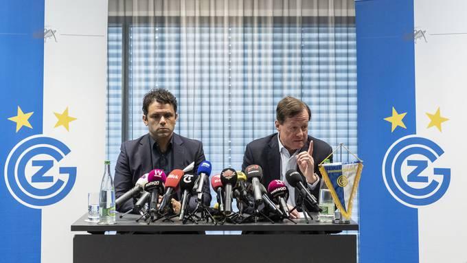 Nach Abstieg: GC-Verantwortliche treten vor die Medien